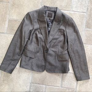 NWT The Limited Collection Brown Blazer Jacket L